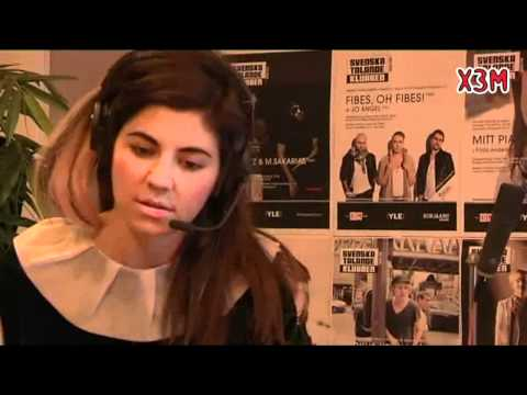 (HD) Marina and the Diamonds - Interview (X3M Radio Finland 25-11-2010)
