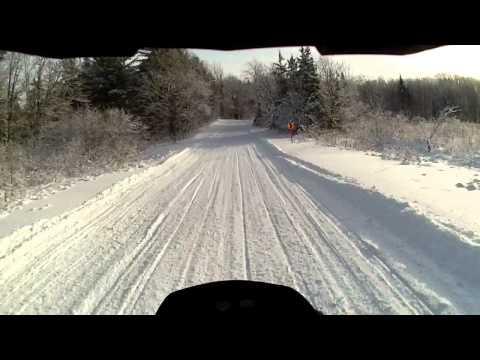 Ski-Doo Turbo 1200 Testing