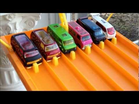 HOTWHEELS 6 LANE DRAGRACE # 6... THE VANS Music Videos