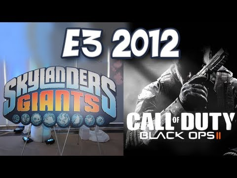 Yogscast - E3 2012 - Black Ops 2 & Skylanders Giants