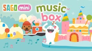 Play cute melodies in Sago Mini Music Box