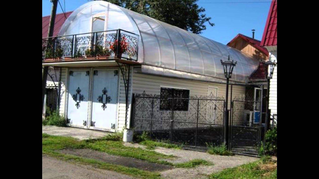 Дом из поликарбоната своими руками фото