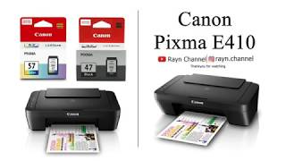 Printer Canon Pixma E410 Scan dan Review