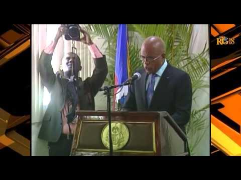 Haiti news: Me. Jules Cantave, nouveau Président de la Cour de Cassation et du CSPJ.