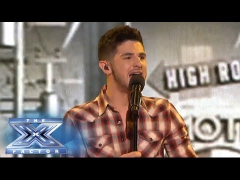 "Restless Road Performs ""That's My Kind of Night"" - THE X FACTOR USA 2013"