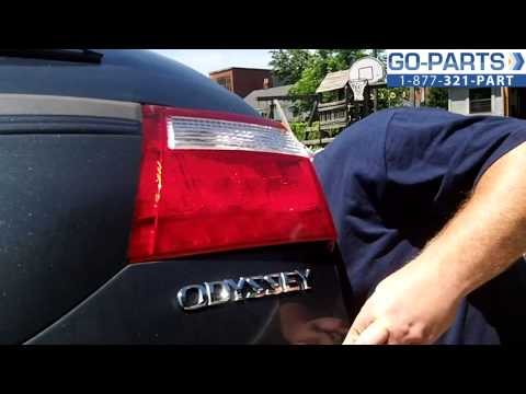 Replace 2005-2007 Honda Odyssey Tail Light. How to Change Install 2006 34151SHJA01 HO2801163