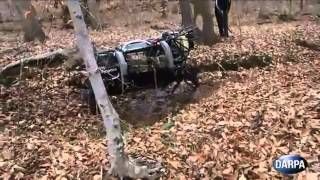 Military Robot 2013 DARPA LS3 Automatically Follows Soldiers