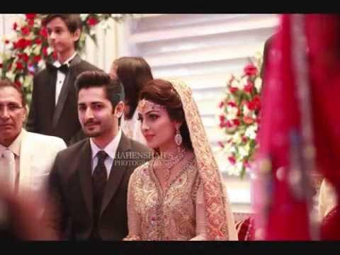 Exclusive valima video- Aiza khan and danish taimoor