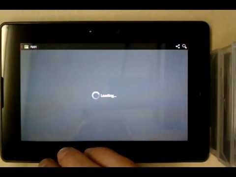 Android Market on rooted BlackBerry PlayBook