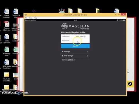 Magellan Set Up and Downloads