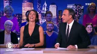 Parité hommes / femmes : Alessandra Sublet à la rescousse ! - C'est Canteloup du 27 novembre...