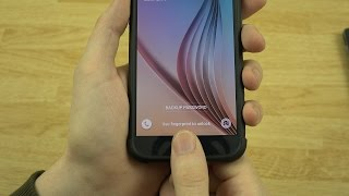How To Setup the Fingerprint Scanner on the Galaxy S6!