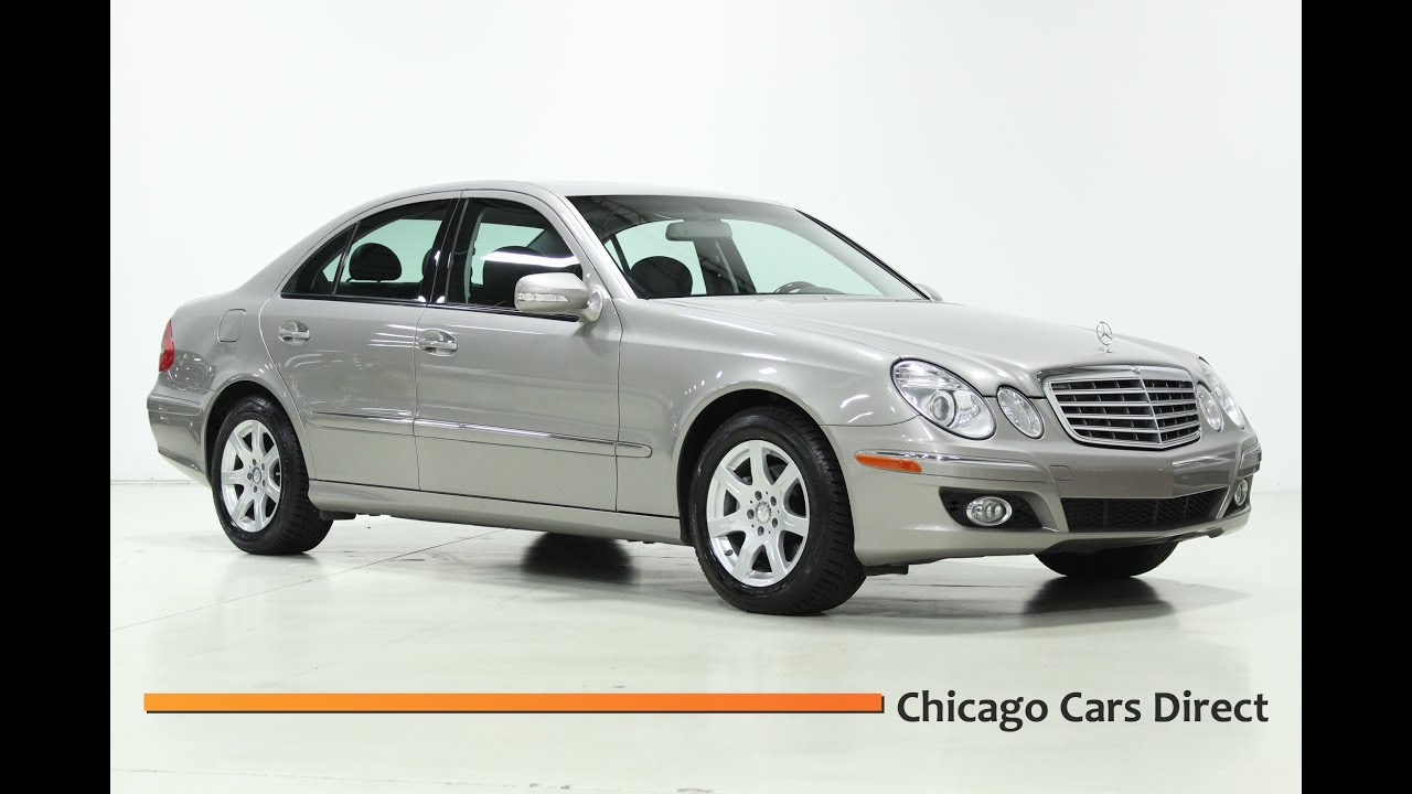 Chicago cars direct presents a 2009 mercedes benz e320 for Mercedes benz e320 bluetec