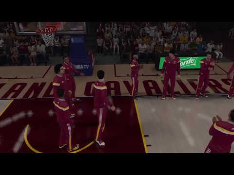 NBA 2k15 - The Starters ft. Lebron James