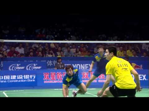 2011 Double Star BWF Sudirman Cup MD SF