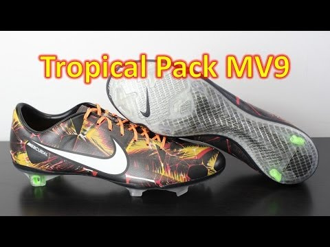 Nike Mercurial Vapor 9 LE Tropical Pack Laser Orange - Unboxing + On Feet