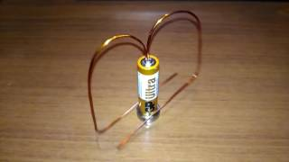 Simple Wire Electric Motor DIY