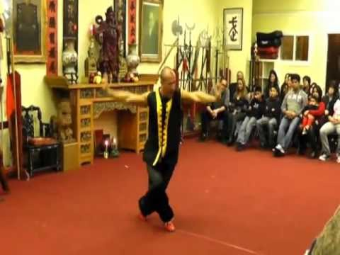 Buk Sing Choy Lay Fut Fremont: Scott and Master Shane demonstration Image 1