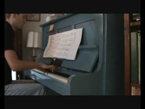 Lady in the water - James Newton Howard - End titles piano solo