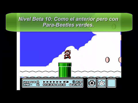 Super Mario Bros. 3 (NES/SNES) - Niveles beta