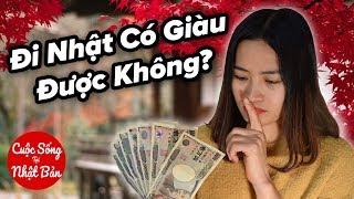 Lương Một Tháng Ở Nhật Tiết Kiệm Được Bao Nhiêu Tiền?