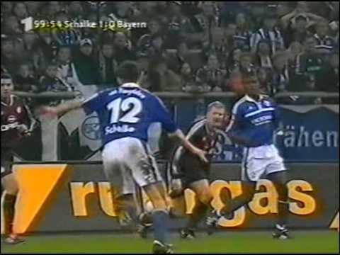DFB-Pokal 01/02 Halbfinale - FC Schalke 04 vs. FC Bayern München