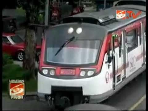 Uji Coba Rail Bus Batara Krisna di Solo
