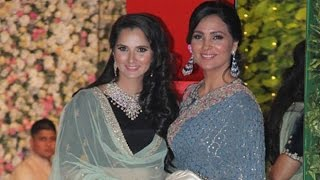 Lara Dutta & Sania Mirza at Mukesh Ambani's Niece Pre Wedding Party | Isheta Ambani Marriage