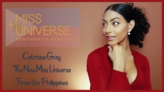 Miss Universe 2018 Catriona Gray | Sthephanie Marie