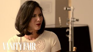 Olivia Munn Opens Up To Krista Smith About Aaron Sorkin & Meeting The Black Eyed Peas