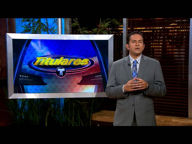 Titulares Telemundo / Talento sudamericano / Telemundo