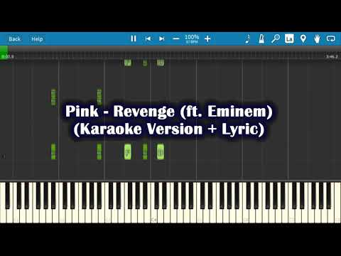 Eminem ft. Pink Revenge - Karaoke[Music+Lyrics]