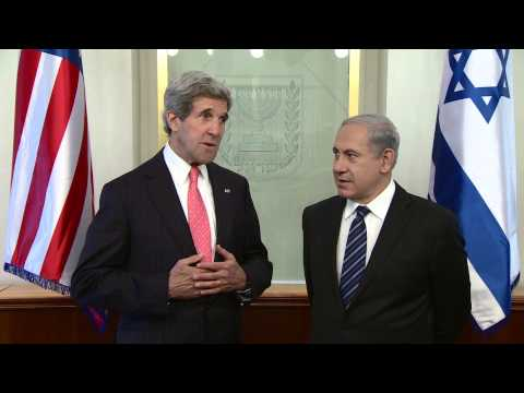 PM Netanyahu Meets with U.S. Sec. of State Kerry