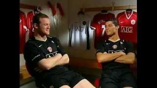 Cristiano Ronaldo and Wayne Rooney Interview