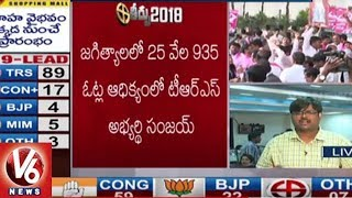 TRS Candidate Sanjay Kumar Won Jagtial Assembly Seat - TS Assembly Results  - netivaarthalu.com
