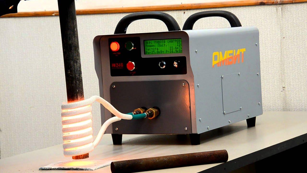 Индукционный нагреватель для воды своими руками
