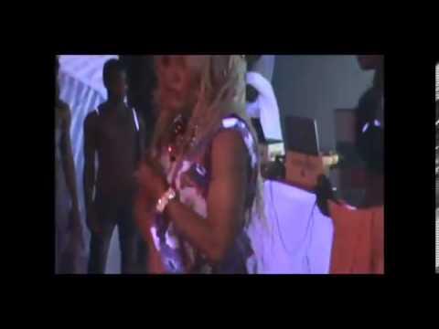 Mercedes Vuitton doing  Nicki minaj meadly/jamaican dancehall