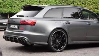 ABT Audi RS6+ with loud IPE Exhaust !