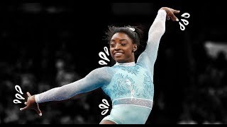 Simone Biles Floor Mount Evolution - 2009-2018!