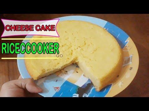 Resep Cheese Cake Rice Cooker Lembut & Ngeju Banget