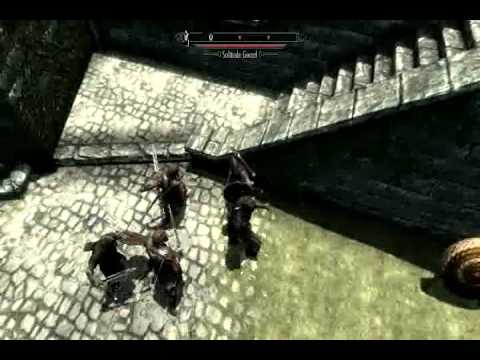 Xbox 360 Skyrim Mod Dawnguard Hearthfire Play as Unarmed Damage Set to 800