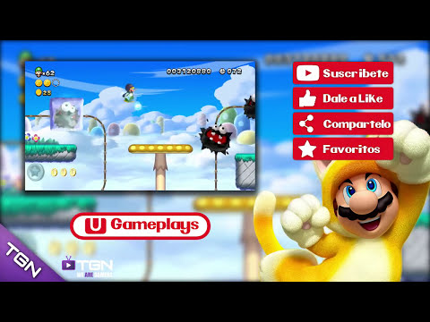 New Super Luigi U | Wii U Gameplay #18 | Español HD