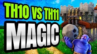 MULTIPLE STRATEGIES FOR 2 STARS: TH10 vs TH11
