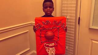 The Neal Family: Basketball Invention by Christian Neal. The Slam Dunk Bar