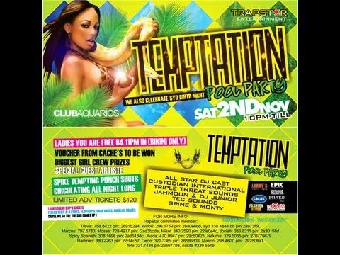 ✬ •*¨*•..• TEMPTATION POOL PARTY & SYD'S BIRTHDAY BASH *¨*•..• ✬