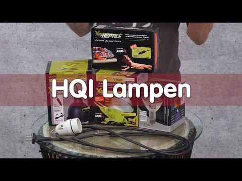 Reptil TV - Technik - HQI Lampen