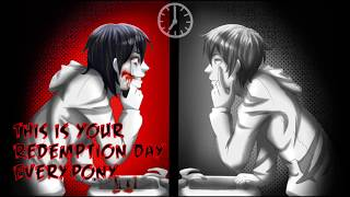 ♪ Nightcore - September - Jeff The Killer (Switching Vocals)
