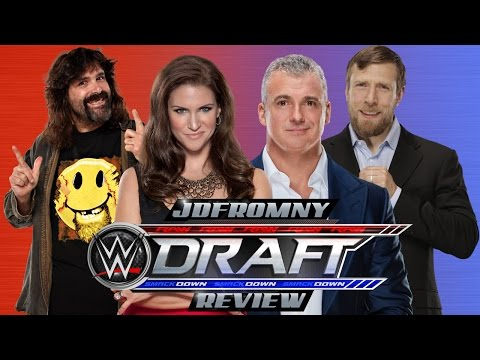WWE Smackdown Live 7/19/16 Review: The 2016 WWE Draft Is Exactly What I Said It Would Be...PATHETIC