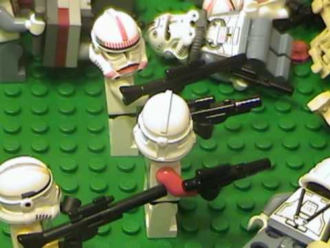 Lego Clone Wars 501st Legion IV - Confederacy Strikes (filmed in 2007)