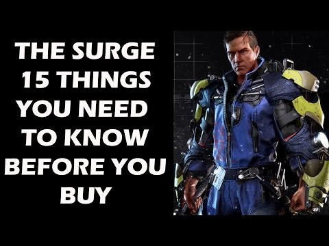 10 Things You Need To Know About The Surge: A Sci-fi Souls-Like